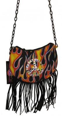 Handtasche Flammen