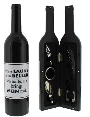 Weinflasche - Laune im Keller  (Auslaufartikel)