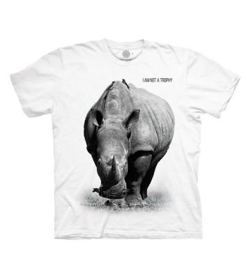 Rhino I Am Not A Trophy Protect T Shirt