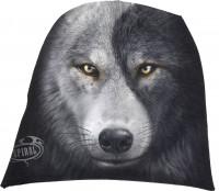 Wolf Chi - Luftiger Beanie schwarz