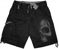 Shadow Skull - Shorts in Antikoptik