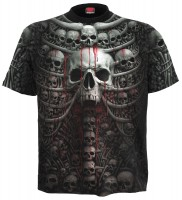Death Ribs - AllOver T-Shirt schwarz