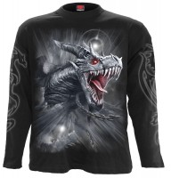 Dragon`s Cry Longsleeve schwarz
