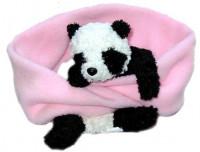 Fleeceschal mit Panda