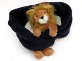 Fleeceschal mit Löwe