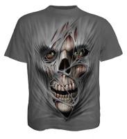 Stitched Up T-Shirt dunkelgrau
