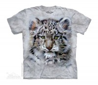 Baby Snow Leopard Zoo Kinder T-Shirt