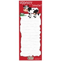 Udderly Important Magnet-Notizzettel
