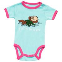 I Otter Be in Bed Mädchen Babystrampler   AUSLAUFARTIKEL