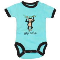 Wild Thing Monkey Jungen Babystrampler