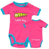 Cuddle Bug Mädchen Babystrampler
