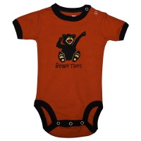 Beary Tired Unisex Babystrampler
