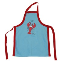 Pinch Lobster BBQ Schürze Unisex
