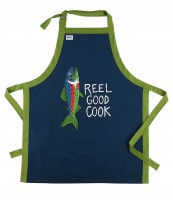 Reel Good Cook BBQ BBQ Schürze Unisex