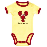 Butter Me Up Unisex Babystrampler
