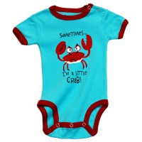 I`m little Crabby Jungen Babystrampler Auslaufartikel