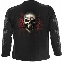 Game Over - Langarm Shirt schwarz