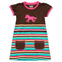 Horse Stripe T-Shirt Kleidchen
