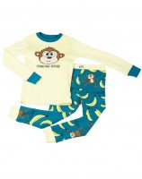 Monkeying Around KinderPyjamaset Langarm