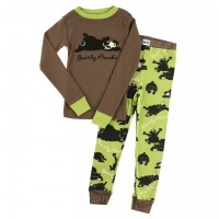 Bearly Awake Langarm Jungen Pyjamaset