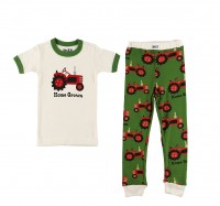 Home Grown Kurzarm Jungen Pyjamaset