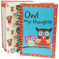 Owl My Thoughts Notizbuch