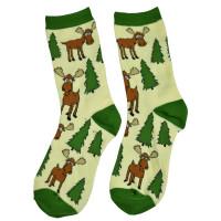Moose Hug halbhohe Crew-Socken