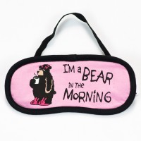 Bear in Morning Damen Schlafmaske