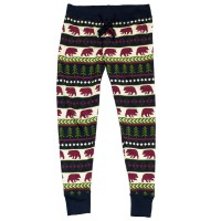 Bear Fair Isle DamenPyjama Leggings