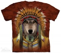 Wolf Spirit Chief T-Shirt
