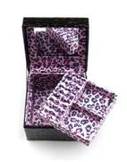 Schmuckschatulle Pink Leopard