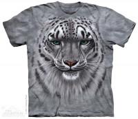 Snow Leopard Portrait T-Shirt