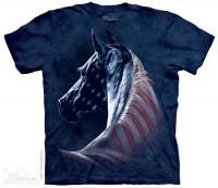 Patriotic Horse Head T-Shirt