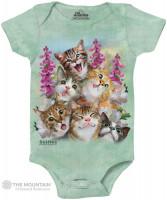 Kittens Selfie Babystrampler