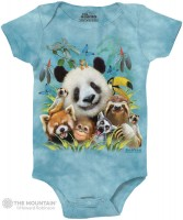 Zoo Selfie Babystrampler