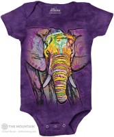 Russo Elephant Babystrampler
