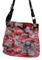 Handtasche mit Totenkopf