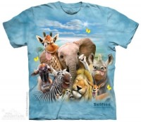 African Selfie Kinder T-Shirt