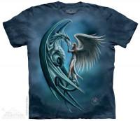 Angel & Dragon Fantasy T Shirt