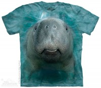 Big Face Manatee T-Shirt