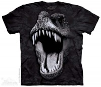 Big Face Glow Rex Dinosaurs T-Shirt