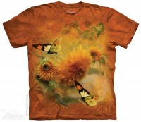 Sunflower Butterflies T Shirt