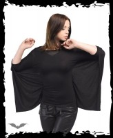Langarmshirt im Fledermaus-Stil