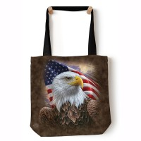 Independence Eagle Brown USA Tragebeutel