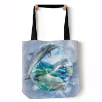 Delfin Bubble Blue Aquatic Tragetasche