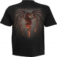 Dragon Furnace - T-Shirt schwarz
