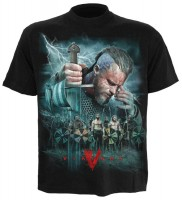 Battle Vikings T-Shirt schwarz