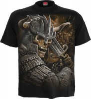 Viking Warrior T-Shirt schwarz