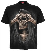 Dark Love T-Shirt schwarz