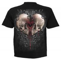 Dark Love T-Shirt schwarz
